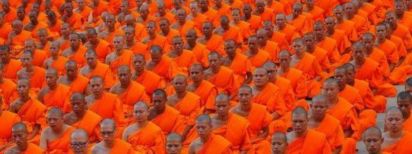 Monks Meditating Osho Meditation &Amp; Relationship